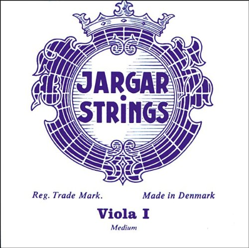Jargar Viola Strings A Loop End, Medium 4/4 Size
